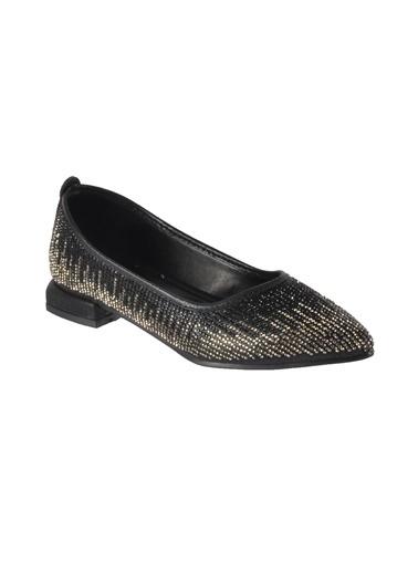Mhd 322 Platin Kadın Günlük Ayakkabı Siyah